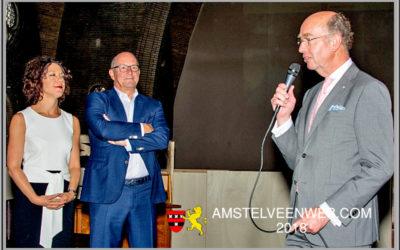 Afscheid van de Amstelveense wethouders Peter Bot en Maaike Veeningen