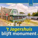 BBA blij: 't Jagershuis blijft rijksmonument