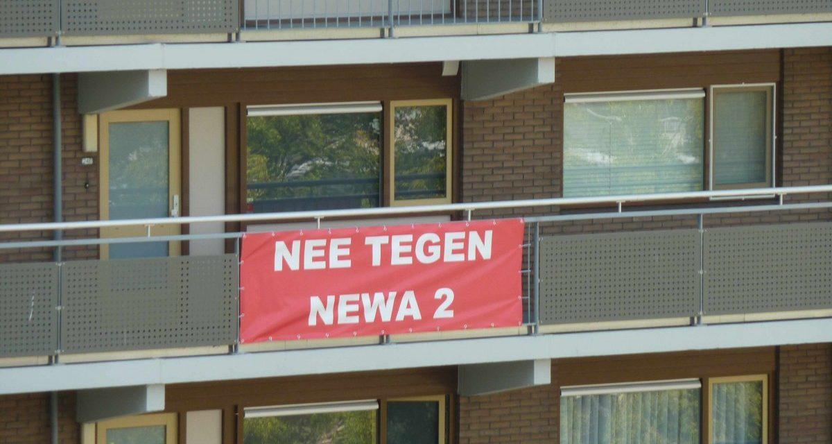 Bij Newa 2 ook rotonde aan Groenelaan