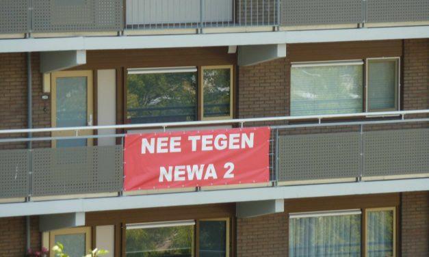 Wijk Groenelaan opgelucht na afblazen  Newa 2